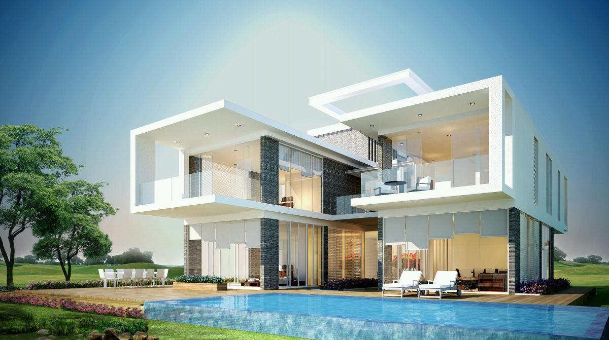 Các mẫu thiết kế biệt thự 2 tầng đẹp và đẳng cấp